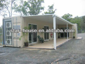 Commercial prefabricated steel building