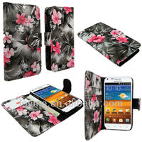 Color Wallet Pocket PU Leather Case Cover Protector Flip For Samsung Galaxy Note 2 II N7100