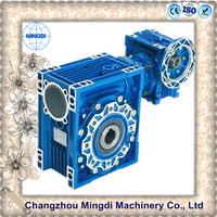 NMRV Series Avts Die-casting Aluminium Alloy Housing Worm Reducer Gearbox with Electric Motors for ball screw jacks