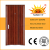New model steel entrance door for home