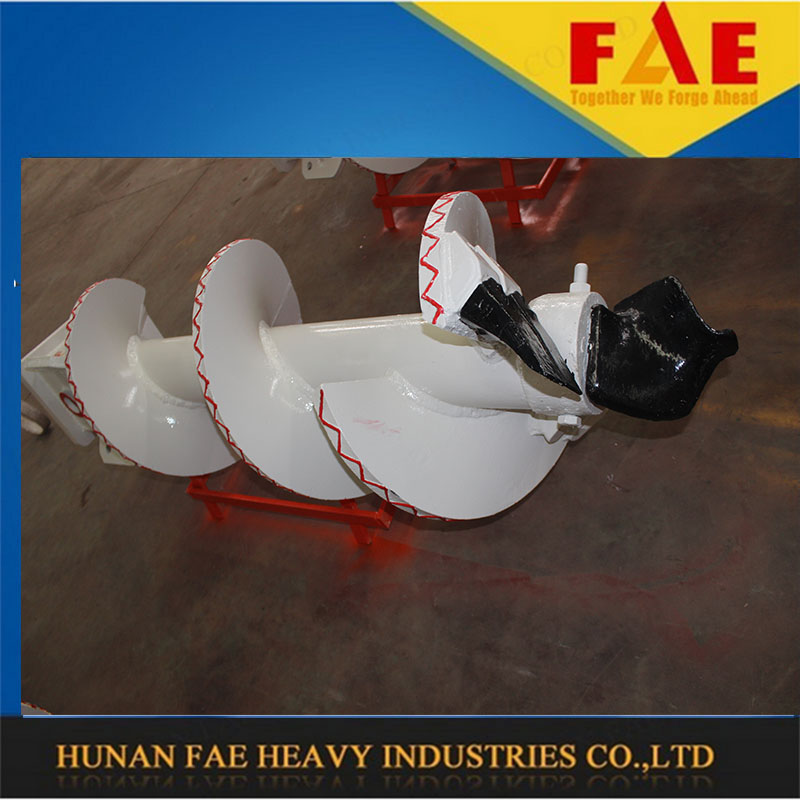piling contractors hydraulic clay drill auger bucket