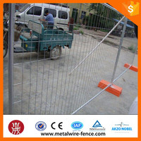 Australia Standard Anping Factory Removable Galvanized temporary steel construction fence (ISO9001 and CE Certificate)