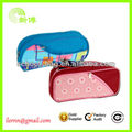 Promotion polyester zipper pen bag