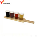 paddle custom wooden serving beer tray