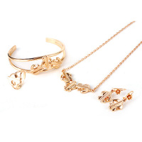 60222 Newest Arrival Xuping Fahion Russian Jewelry 18k Gold Plated Jewelry Sets