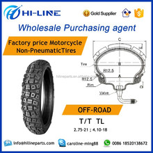 offroad 2.75-21 4.10-18 T/T TL motorcycle tire off road tires global procurement services trading company