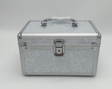Aluminum alloy professional cosmetic case suitcase with lock multi-layer tattoo tool kit