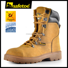 2017 new design rubber sole heat resistant work boots