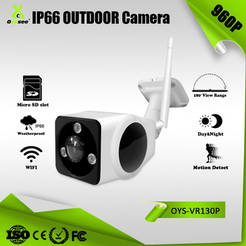 Outdoor wifi Camera Panoramic fisheye wifi ip camera waterproof 1.3MP