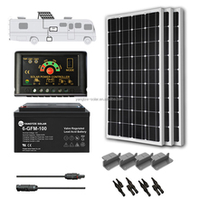 portable 300w solar power generator system