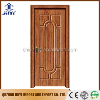 2017 new design sell well Iraq popular pvc sheet living room pvc hdf door from Jiangshan city