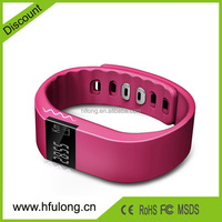 TW64 Bluetooth Health Smart Bracelet Wristband Watch Pedometer Cell Phone Mate with Sleep Monitoring Calorie Calculator