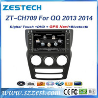 ZESTECH 7'' HD Touch screen Double Din Car radio for Chery QQ 2013 2014 with GPS BT Radio AM/FM 3G A8 CHIPSET