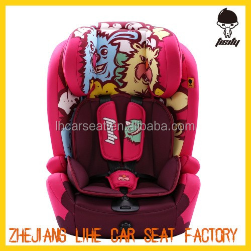 2016 china New style baby car seat isofix for group 1+2+3