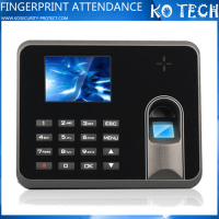 Excel Report fingerprint machine for employee time attendance KO-M5
