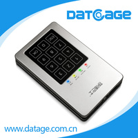 Datage 2.5 Inch Wireless Hard Drive Enclosure With Hardware Password Encryption
