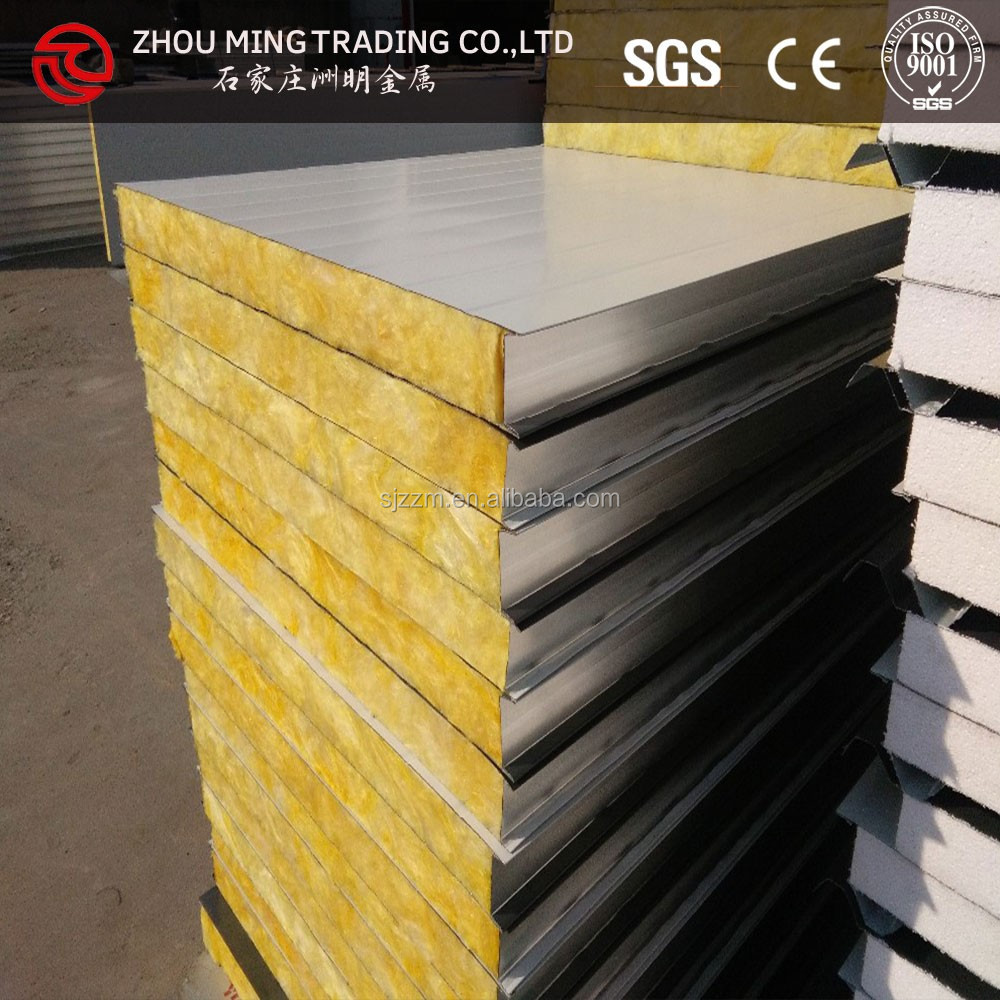 Sandwich panel for exterior wall insulation buy sandwich for Exterior insulation