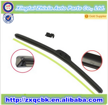 car windshield wiper blades top selling/car flat soft wholesale windshield wiper blade