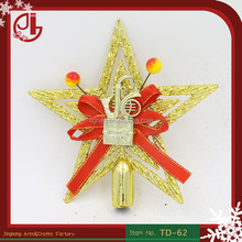 Christmas Tree Topper God Plastic Star Design Home Decoration