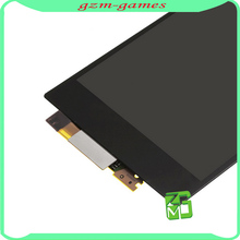100% guarantee no dead pixel spare parts digitizer for sony z1 lcd