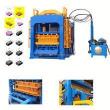 Best selling in alibaba QT4-15 wax block machine price brick block machine in pakistan