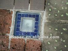 decor sidewalk lights solar pavement light LED garden brick ice brick