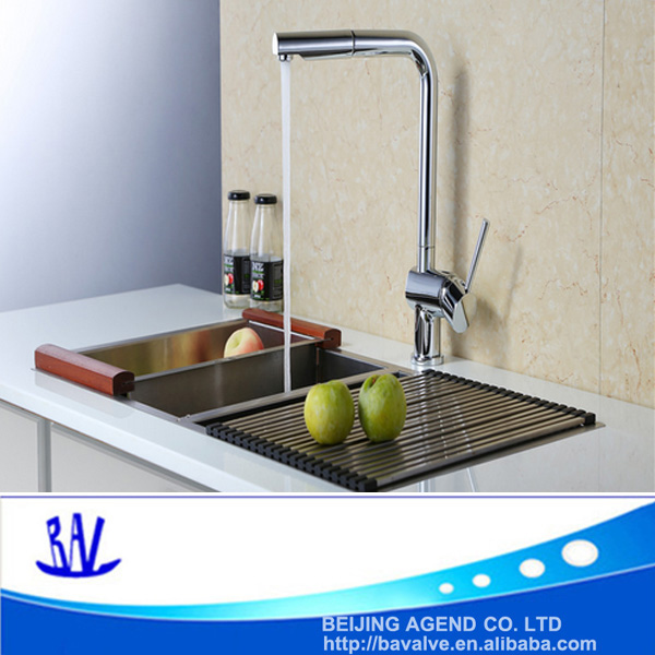 Pull Out Spray Spout Kitchen Sink Faucet Handheld Mixer Tap