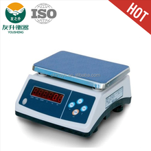 Table Tope Electronic Weighing Scale,30kg /1 g Highly Accurate Division,Precise Load Cell,ABS Heavy Duty Body.630g Battery.
