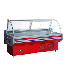 Commercial refrigerators service counter chiller meat fridge