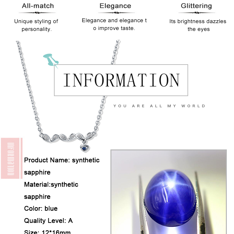 asterism synthetic sapphire price per carat corundum jewelry stone