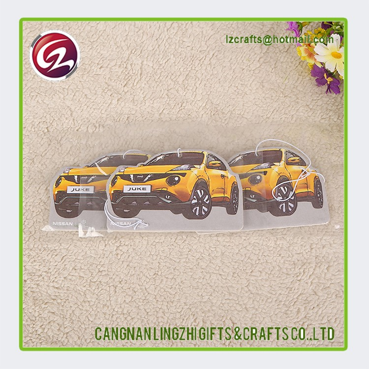 China supplier custom hanging car air freshener