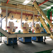 Huge wood pellet mill machine with 3000 kg per hour capacity for power plant