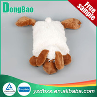 white and brown Animal plush Cover Of sheep plush hot Water Bottle