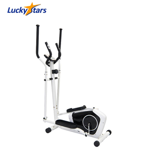Cardio Dual Trainer Elliptical Workout Upright Exercise Bike