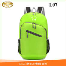 China 2016 custom logo teens hiking nylon waterproof dry bag backpack