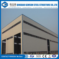 Fast Construction Light Steel Structure for Carport / Shed