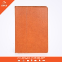2015 New arrival hottest sale genuine leather tablet case for ipad