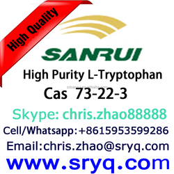 Cas 73-22-3 L-Tryptophan, High Purity L-Tryptophan