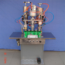 MZH-F Factory Sale Automatic Spray Paint Can Aerosol Filling Machine