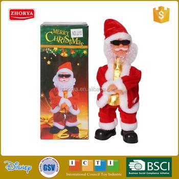christmas ornament toys dancing christmas santa claus gangnam ...
