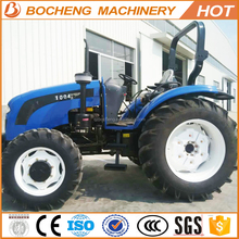 China Factory 100HP Farm Tractors Pricelist With Farm Implements