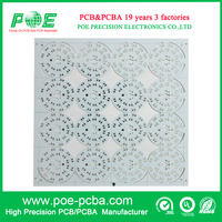 15W 22OV LED PCB Contract Manufacturer LED PCB Printed Circuit Boards / SMD Round LED Board
