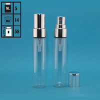 Trade assurance customized samples free glass perfume bottle