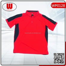 China factory price polo man work shirt