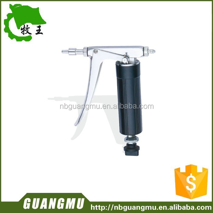 K full metal adjustable syringe chicken rabbit fish loach vaccine injection needle tube 2ml injection.