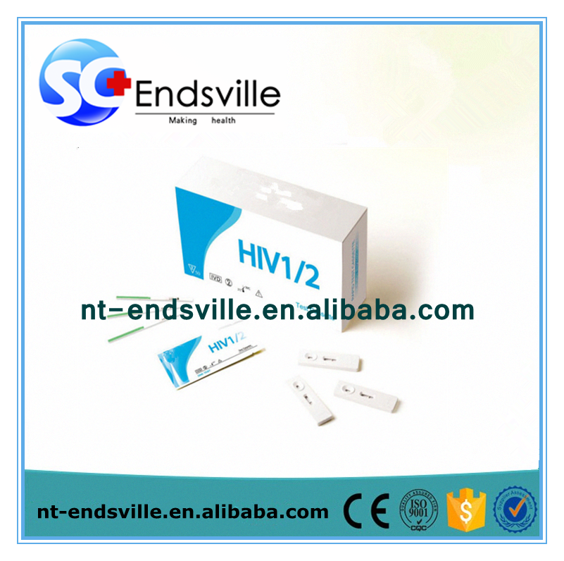 Home medical equipment AIDS HIV rapid test kit