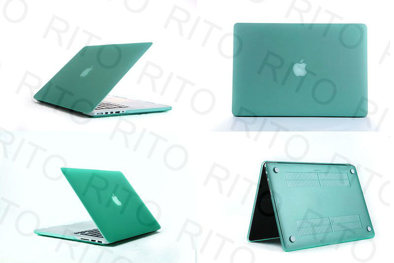 "Wholesale Matte Rubberized Hard Case Cover For Macbook Pro 13"" 13.3"" Retina Screen Display,11 Colors,Customers logo"