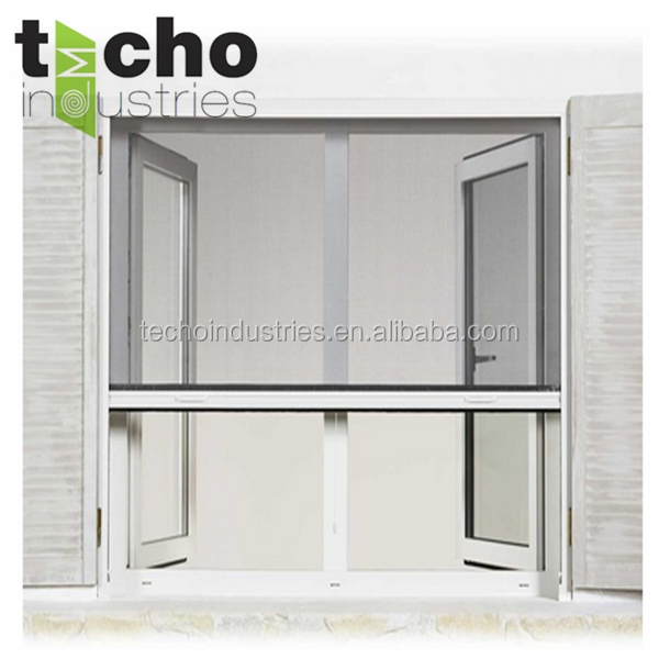 European new roller insect screen window with fiberglasss for Screen new window