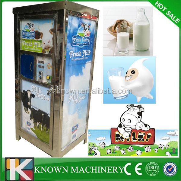 200L CE approval hot sale in Kenya fresh milk vending machine,automatic milk vending machine