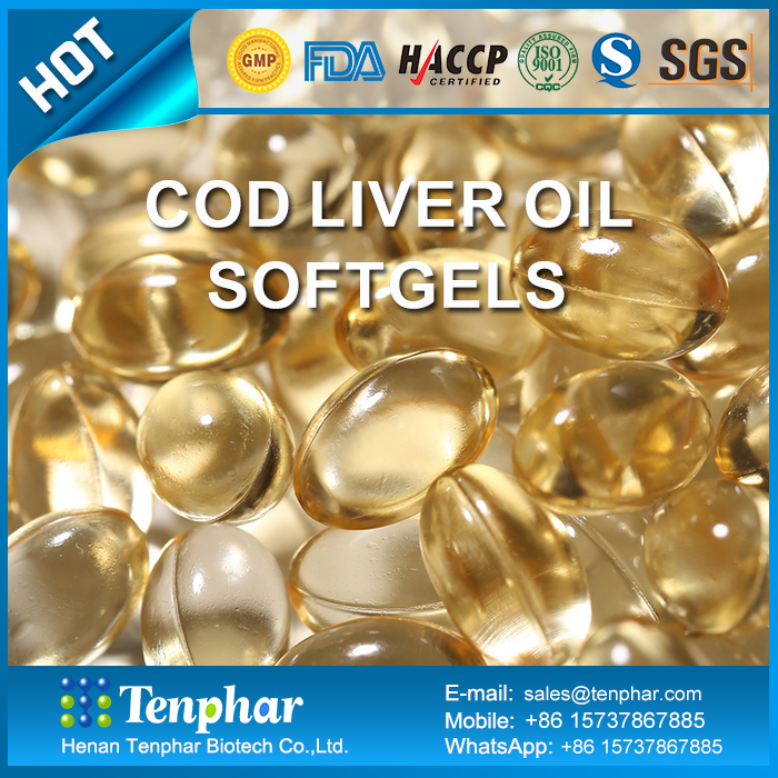 Private Label Cold Pressed Cod Liver Oil Supplement Pills Soft Capsules